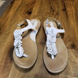 Cream b.o.c. sandals